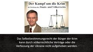 Prof. Schachtschneider: Ukraine, Krim, Russland und das Völkerrecht