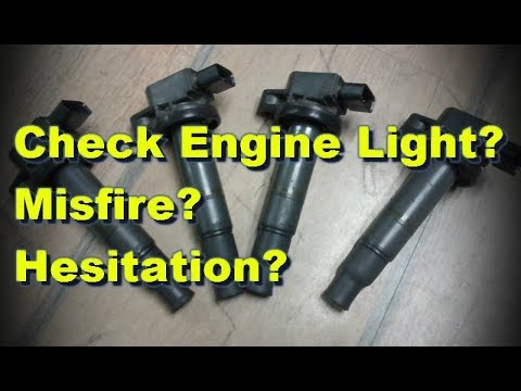 How to Diagnose a Check Engine Light & Faulty Coil Pack in UNDER 2 minutes, with no scan tools!