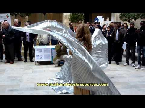 Mediterranean Crossroads - International Migrants Day in Malta - Caramella Bellydance Malta