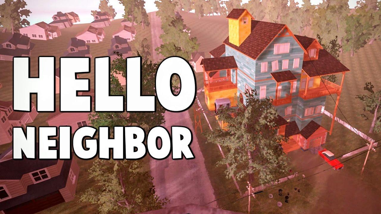 The hello neighbor house - Flying Trashcan Glitch Other House Hello Neighbor Alpha 3 Youtube