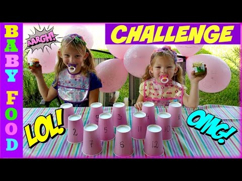 BABY FOOD CHALLENGE - Magic Box Toys Collector