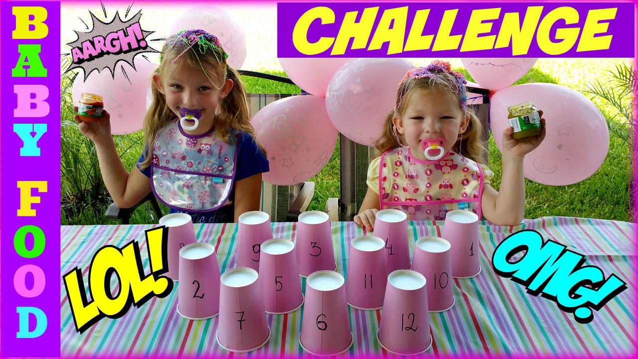 Baby food challenge magic box toys collector youtube ccuart