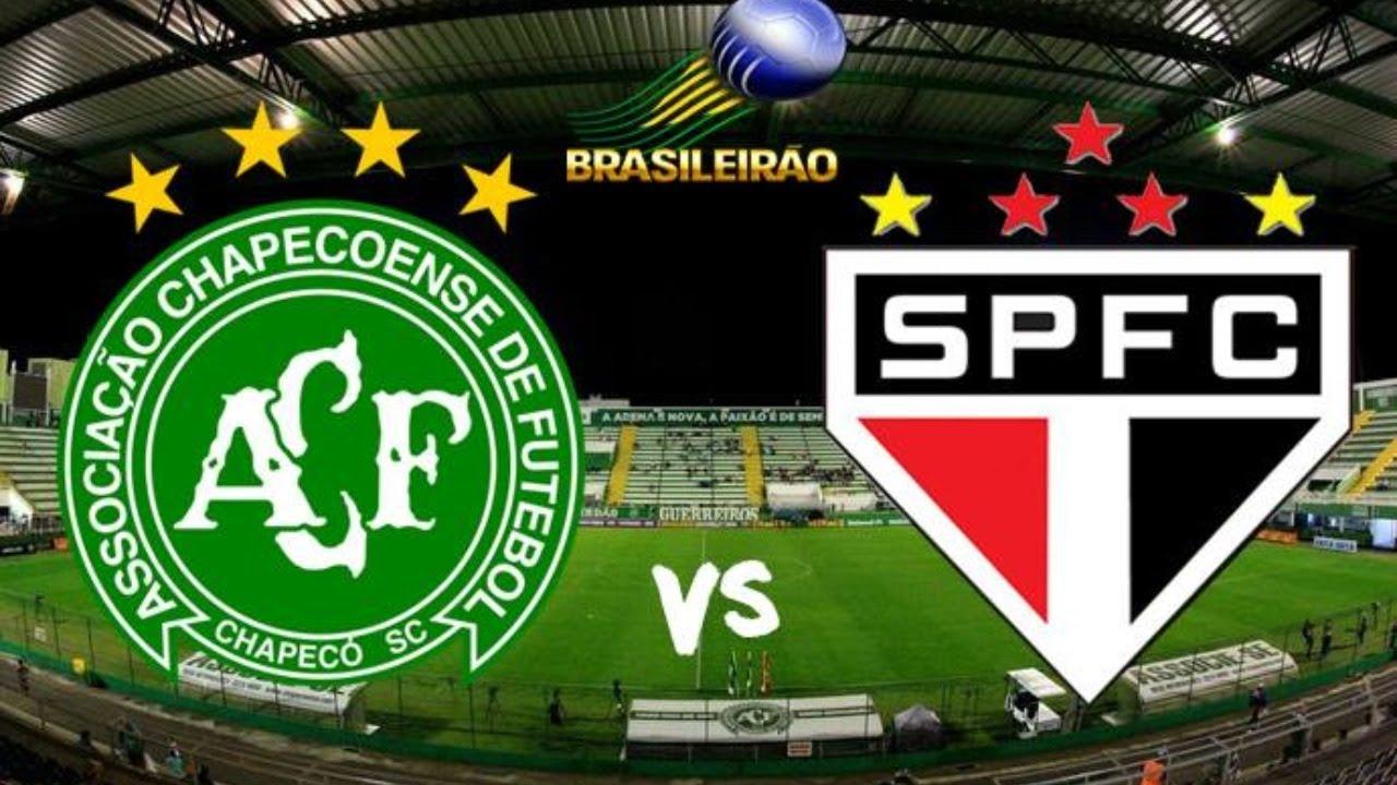 Resultado de imagem para Chapecoense x São Paulo - 02/11/19 - Brasileirão