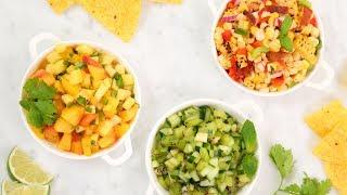 3 NEW Healthy Salsa Recipes
