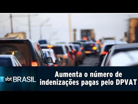 Aumenta em 10% o número de indenizações pagas pelo DPVAT   SBT Brasil (24/07/18)