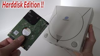 Sega Dreamcast 120gb HDD Edition from Ali-Express !