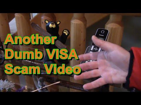 Visa Credit Card Scam Phone Call