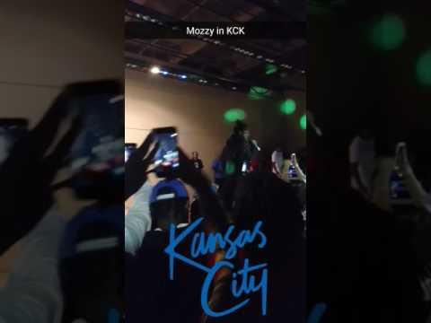 Mozzy concert in Kansas City, Kansas
