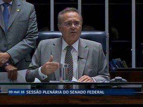 Renan Calheiros anuncia prosseguimento do processo de impeachment de Dilma no Senado