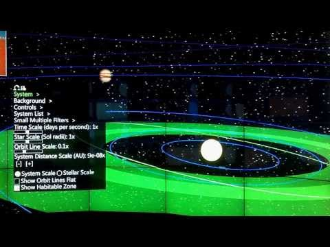 Stellar Explorer in CAVE2™