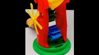 """Обзор - распаковка игрушек Песочный набор """"Мельница"""" ТЕХНОК Арт: 2735"""