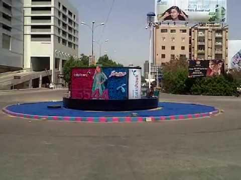 Talkshawk   Creative Roundabout Branding at Hyperstar Mall, Clifton, Karachi