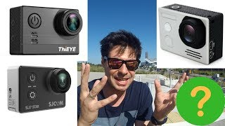SJCAM SJ7 Star vs FireFly 8S vs ThiEye T5e - the great competition