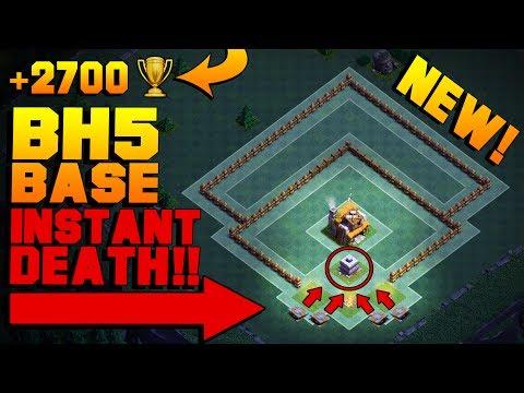 MOST INSANE Builder Hall 5 Base w/ LEGIT PROOF!! | BEST CoC BH5 Builder Base 2017 | Clash of Clans