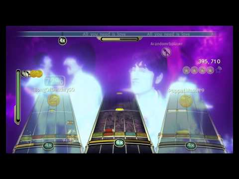 All You Need Is Love  The Beatles Full Band FC #316