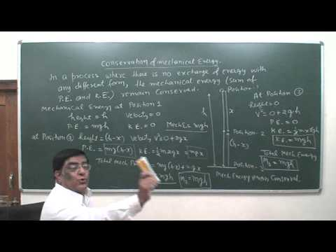 XI 55 Conservation of mechanical Energy