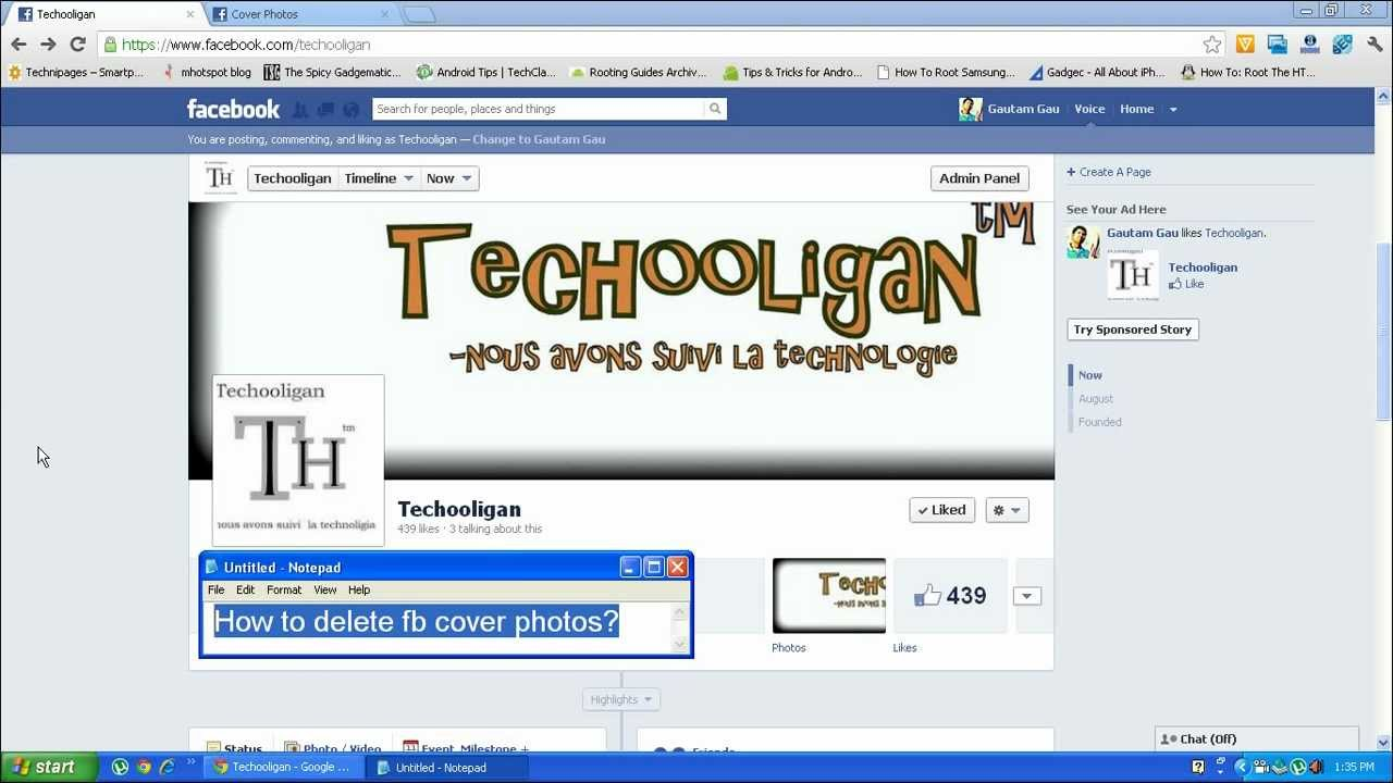 How to delete cover photo in facebook and why youtube how to delete cover photo in facebook and why ccuart Image collections