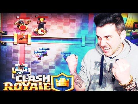 COMO ODIO ESE MAZO!! | Clash Royale | Rubinho vlc