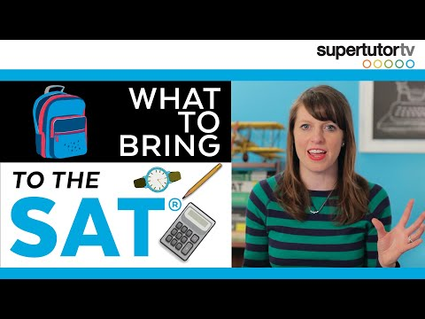 What to Bring to the SAT: The Best Items to Pack for Success!!