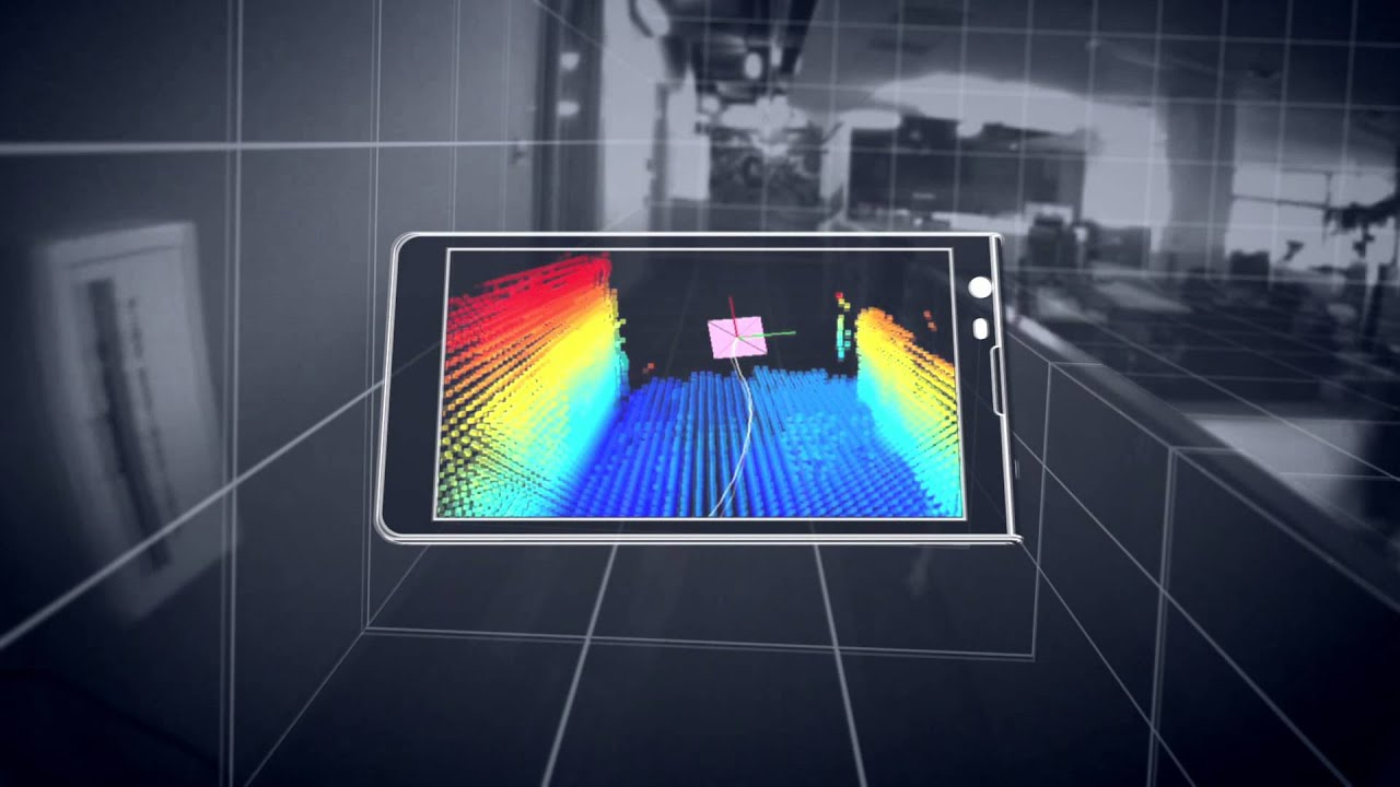 New Google Project Tango Phone Learns and Maps Your Surroundings