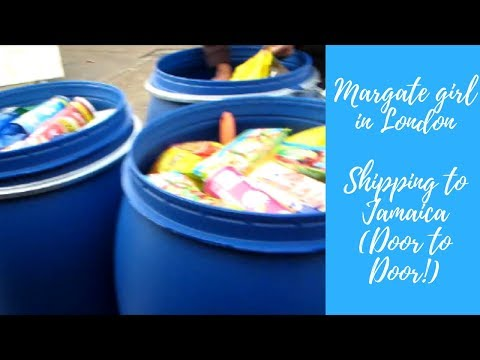 SHIPPING DIRECT TO JAMAICA (DOOR TO DOOR) - MARGATE GIRL IN LONDON