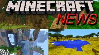 Minecraft News: 1.7 Black Forest, Savannah, Mesa, Special Dungeons, Clone Books, Better Frames