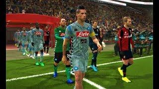 Genoa vs Napoli   Full Match & All Goals 2018   PES 2018 HD