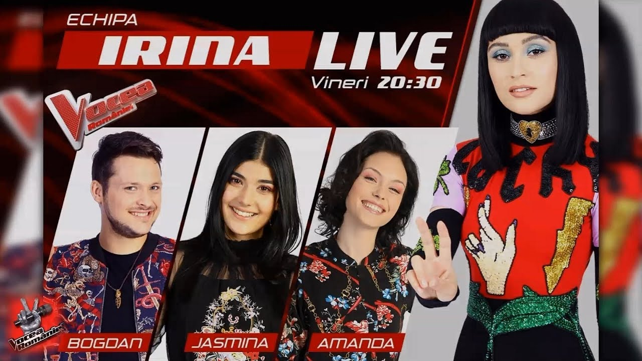 ✌ VOCEA României 2019 ✌ IRINA Rimes , prin ochii concurenților ei! SEMIFINALA LIVE