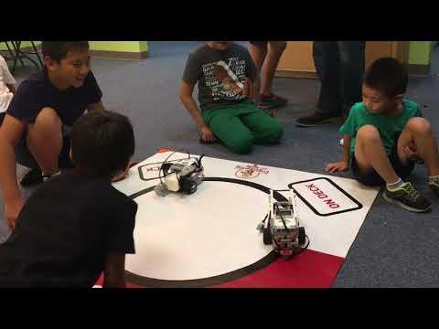EV3 robotics summer camp 4