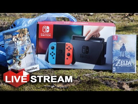Nintendo Switch Unboxing Review! + Comparison & Complete Breakdown! | Live Stream