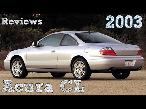 Reviews Acura CL 2003