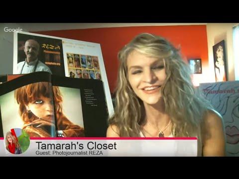 Reza's interview for the Tamarah's Closet internet show