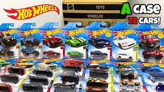 Unboxing Hot Wheels 2019 A Case 72 Car Assortment