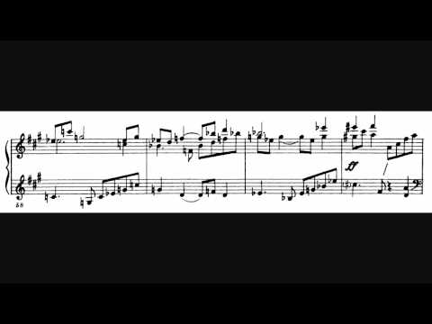 Shostakovich Fugue No. 7 in A major Score