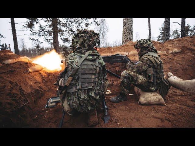 Kuperjanovi jalaväepataljon õppusel Paastuäike 2021