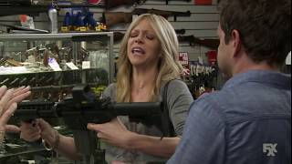 Video It's Always Sunny in Philadelphia - Dee and Dennis tries to buy a rifle. download MP3, 3GP, MP4, WEBM, AVI, FLV November 2017