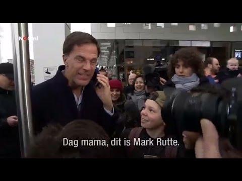 """Dag mama, dit is Mark Rutte"""