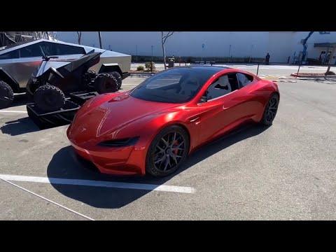 Tesla Roadster 2.0 Video Compilation 1.1s 0-100