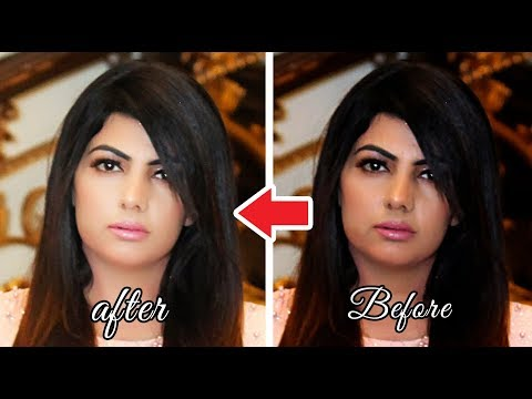 Photoshop Tutorial-How to make your photos QUICKLY LOOK BETTER FAST TREATED thumbnail