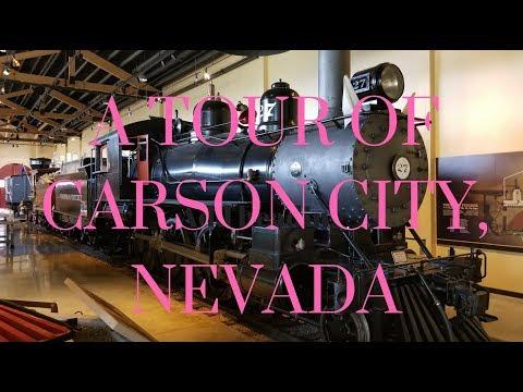 A TOUR OF CARSON CITY, NEVADA
