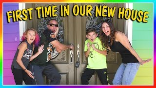 first time seeing our new house empty house tour we are the davises