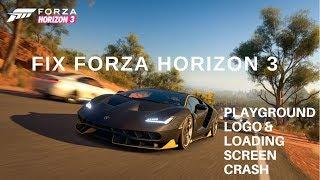 Forza Horizon 3 Freeze Fix
