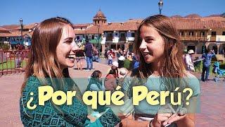 Salimos a las calles de CUSCO a preguntar a los EXTRANJEROS : ¿QUÉ OPINAN DE Perú? (English/Español)