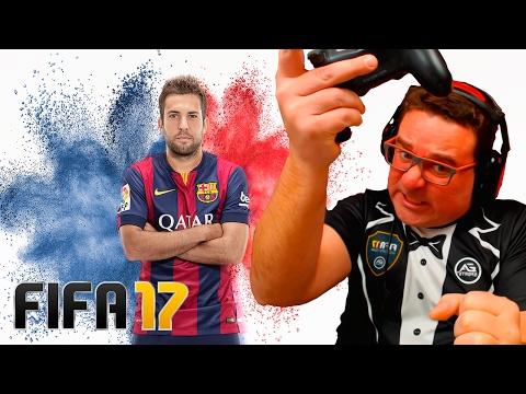 JORDI ALBA | FUI ACUSADO DE DAR PAU E AZIOU 9000 | FIFA 17
