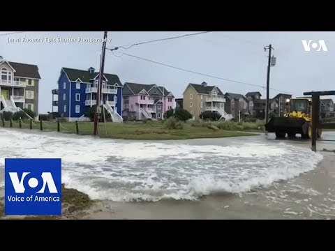 North Carolina Braces for Hurricane Florence Storm Surge