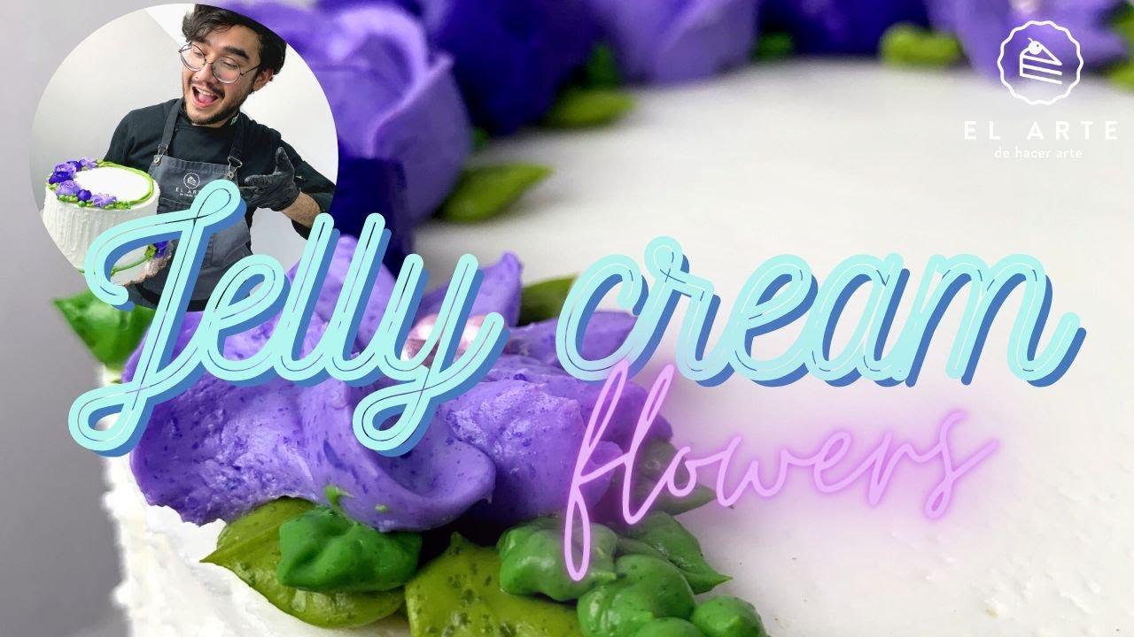 Jelly cream flowers para climas extremos 🔥☀️ - El arte de hacer arte