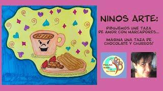 Arte Por Los Ninos en Espanol! / Kids Art Class in Spanish!