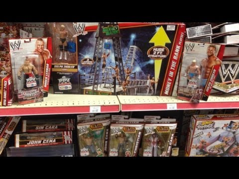 Wwe Figure Hunt Toys R Us Money In The Bank Playset Wrestling
