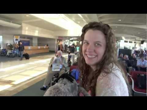 Walt Disney World Vlogs February 2013: Day 1 - Traveling to Walt Disney World (Episode 31)