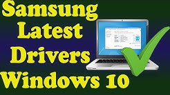 How to Update Drivers for Samsung Windows 10